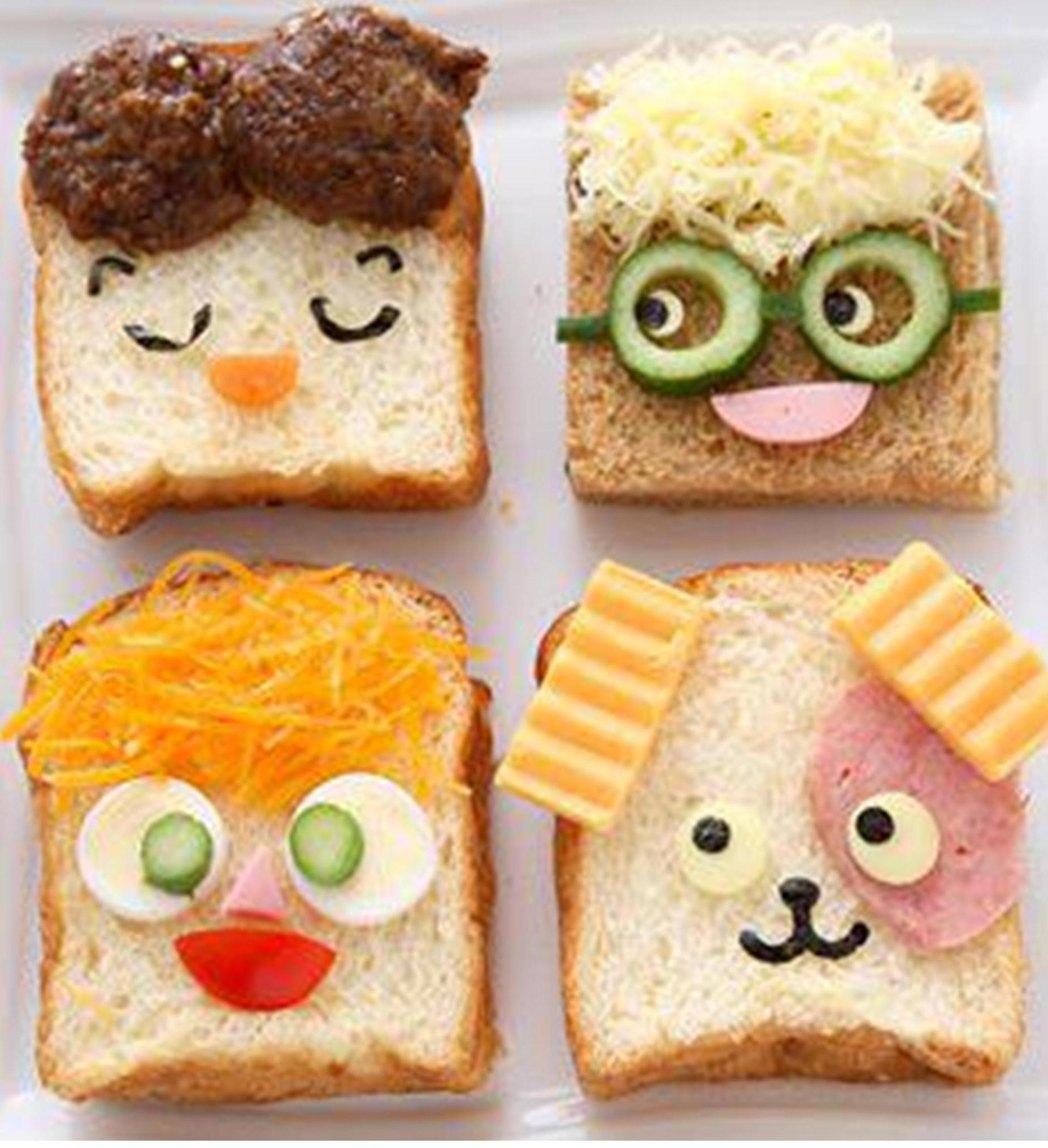 Watermelon hedgehogs and spaghetti frankfurts have a for Cool food ideas for kids