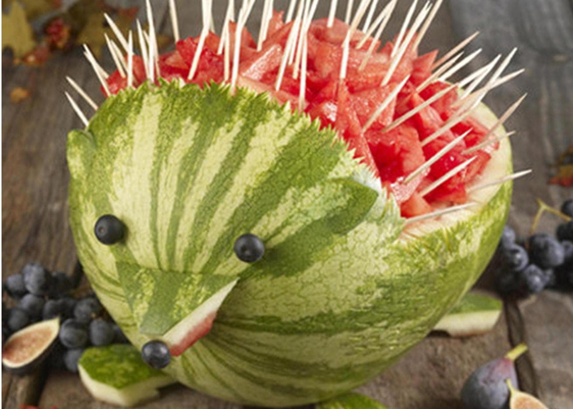 Watermelon Hedgehogs and Spaghetti Frankfurts?! Have a ...