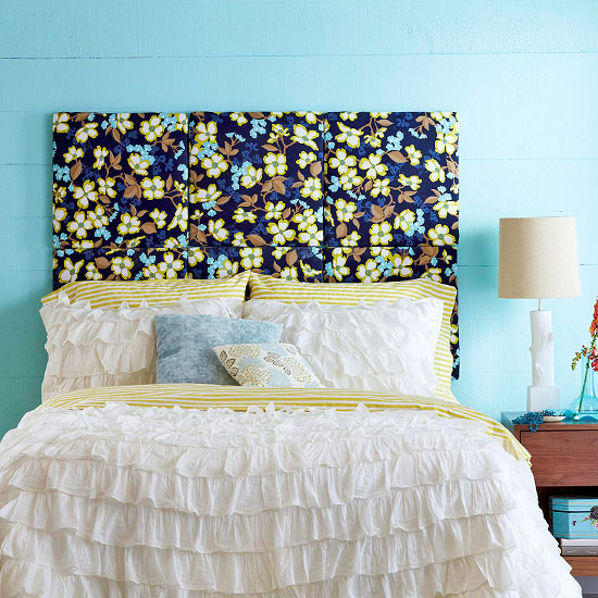 Headboards for Cheap easy to make headboards
